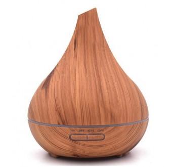 Hütermann aroma difuzér H05 světlé dřevo 400 ml - ultrazvukový