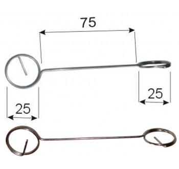 DRŽÁK CENOVKY - K167 - brýle přetočené 125 mm