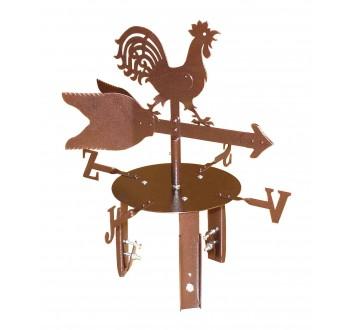 Větrný kohout - stříška na komín - 275 mm  - CU