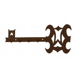 HARMONY věšák na klíče  (černý lesk)