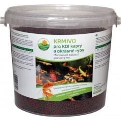 Mix barevné plovoucí granule 6 mm 5 l