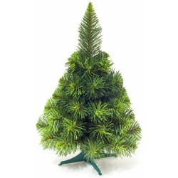 Umělý vánoční stromeček - Jedle zelená 45 cm