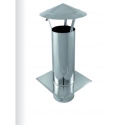 KOMÍNOVÁ STŘÍŠKA CILINDER PLUS - nerez - průměr 250 / 400 mm