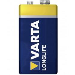 Alkalická baterie Varta Longlife, 9 V, 25,5 mm, 1 ks