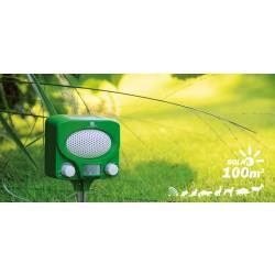 Solární ultrazvukový odpuzovač zvířat Swissinno