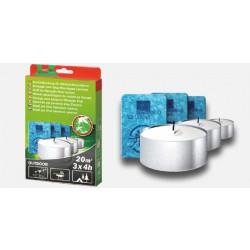 Náhradní náplňě 3 ks až 12 hodin účinnost pro odpuzovač komárů Swissinno
