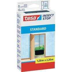 Síť proti hmyzu do dveří Tesa Standard, 55679-21, 1,3 x 2,2 m, antracit