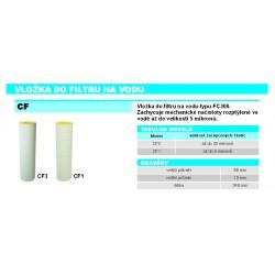 CF1 Náhradní vložka do filtru na vodu 5mikronů
