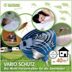 Univerzální odpuzovač hmyzu a škůdců 3v1 Isotronic 90801, 230 V