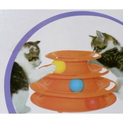 Hutermann - Hračka pro kočky - kuličková věž