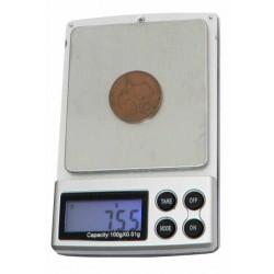HS-100 digitální váha 10Hutermann - HS-100 digitální váha 100g0g x 0,01g kapesní