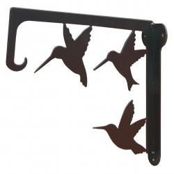 Harmony kovový držák na květináče (ptáci)