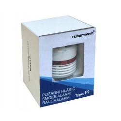 Hutermann F9 Požární hlásič a detektor kouře (EN14604, životnodt baterie 10 let)