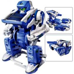 Solární stavebnice Solar Transformers - hračka SolarBot SolarKit 3 v 1 robot, šk