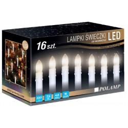 LED osvětlení vnitřní - svíce, tep. bílá, 7,5 m