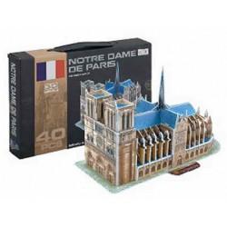 Hutermann - 3D Puzzle skládačka Notre Dame 40 dílků