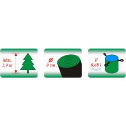 Stojan na vánoční stromek kovový H34 (330 x 330 x 120)