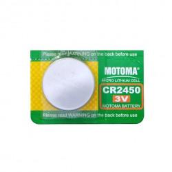 Baterie lithiová CR2450 MOTOMA