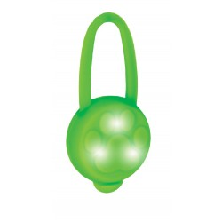 Tomi LED přívěsek na obojek silikonový/ zelený