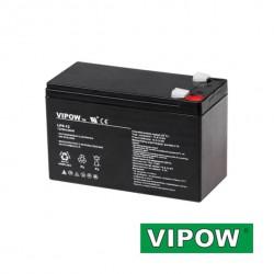 Baterie olověná 12V/ 9Ah VIPOW bezúdržbový akumulátor