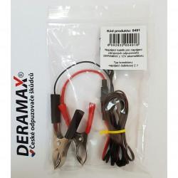 Kablík pro připojení zdrojových odpuzovačů Deramax k 12V akumulátoru