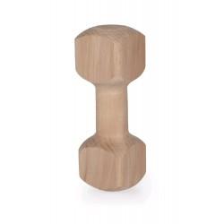 Dřevěná činka aport 250g, 21cm