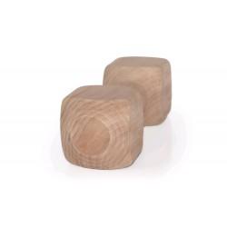 Dřevěná činka aport 400g, 23cm