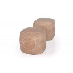 Dřevěná činka aport 1000g, 27cm