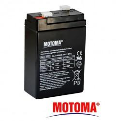 Baterie olověná 6V 2,8Ah MOTOMA