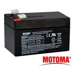 MOTOMA Baterie olověná 12V / 1,2Ah bezúdržbový akumulátor