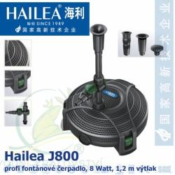 Hailea J800, kvalitní fontánové čerpadlo 800 litrů/hod.