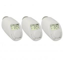 Programovatelná termostatická hlavice eqiva N, 5 do 29.5 °C, sada 3 ks