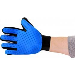 Gumová rukavice pro vyčesávání zvířat