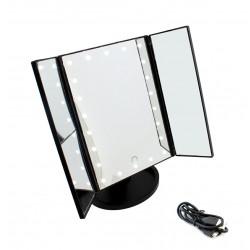 HARMONY Kosmetické zrcadlo - černé