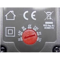 Síťový adaptér bez konektoru Voltcraft SNG-600-OW, 3 - 12 V/DC, 7,2 W