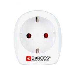 SKROSS cestovní adaptér pro použití v USA, bílý