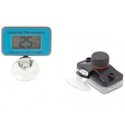 HARMONY Vodotěsný digitalní bateriový teploměr  -50 ° C / + 70 ° C