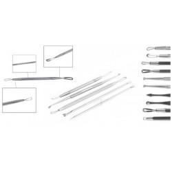 Profesionální nástroje na čištění, vytlačování a odstranění akné - 5 kusů