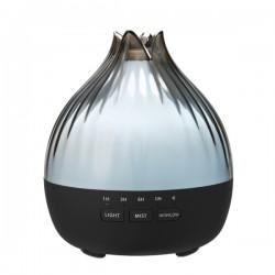 Hütermann S01 aroma difuzér šedá-černá 350 ml - ultrazvukový, 7 barev LED, dálkové ovládání