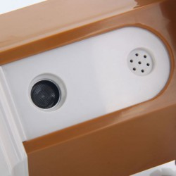 Protištěkací budka černá iTrainer CSB10 - ultrazvuková
