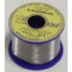 Cín SN 60 PB 40 - drát 1 mm - 100 g