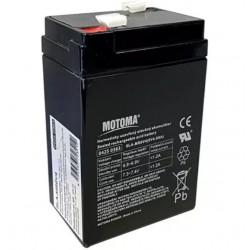Baterie olověná 6V 4.0Ah MOTOMA