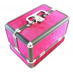 Kosmetický kufřík růžový HARMONY 25x17x17 cm, CA4P