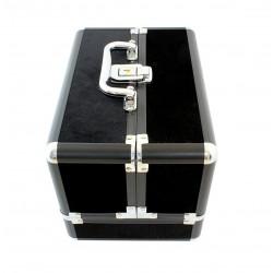 Kosmetický kufřík černý HARMONY 25x17x17 cm, CA4R