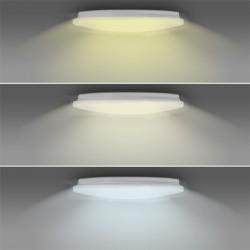 Solight LED SMART WIFI stropní světlo, 28W, 1960lm, 3000-6000K, kulaté, 38cm