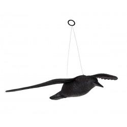 Havran v letu plastová 3D maketa do sadu 40 x 57 x 10 cm