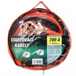 Kabely startovací 700A 2,5m COMPASS 01124