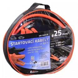 Kabely startovací 600A 3,5m COMPASS TÜV/GS DIN72553-25