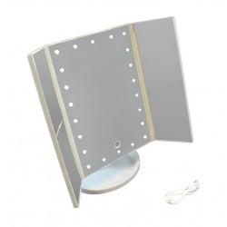 HARMONY Kosmetické zrcadlo - bílé