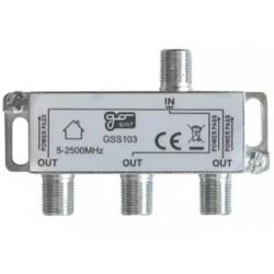 Anténní rozbočovač GoSat GSS103 3 výstupy